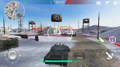 Tank Warfare: PvP Blitz Game  screenshots 23
