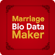 Marriage Bio Data Maker