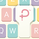 Pastel Keyboard Theme Color - Add colorful design