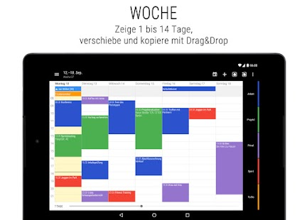 Business Kalender 2 - Agenda, Planer & Organizer Screenshot