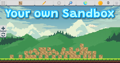 Télécharger 2D Physics Sandbox  APK MOD (Astuce) screenshots 1