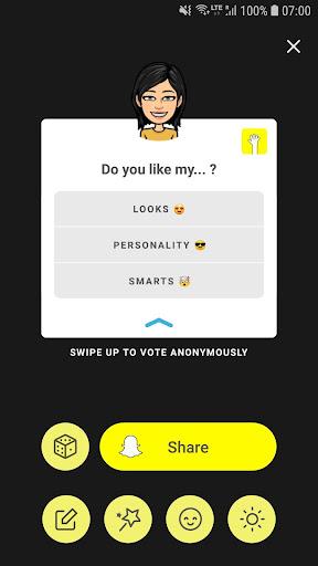 LMK: Anonymous Polls for Snapchat 1.0.41_5 Screenshots 5