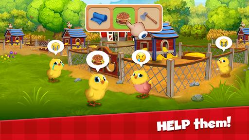 Happy Town Farm Games - Farming & City Building 1.4.0 Screenshots 1