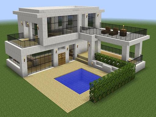 New Modern House for Mineu273fu273fu273fcraft - 500 Top Design 6.7.77 Screenshots 3