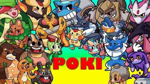 Poki Evolution: Hidden planet - Idle Merge Mania apkmr screenshots 3