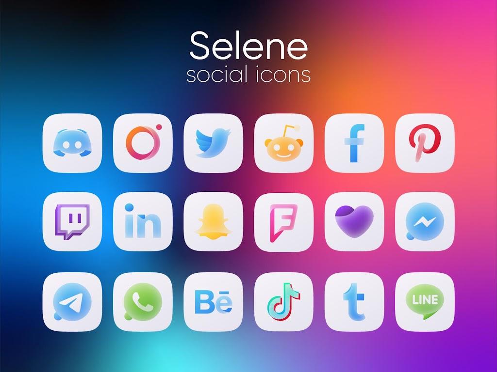 Selene Icon Pack  poster 3