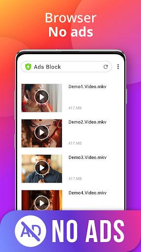 Downloader - Free Video Downloader App 1.1.2 Screenshots 6