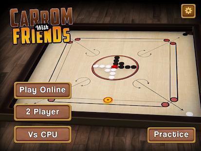 Carrom Multiplayer - 3D Carrom Board Games Offline screenshots 15