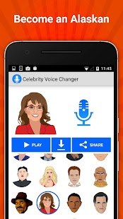 Celebrity Voice Changer Lite Screenshot