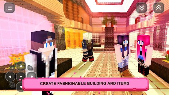 Girls Craft Story: Build & Craft Game For Girls screenshots 2