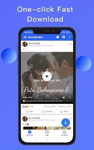 Video Downloader for Facebook – Video Saver Apk Download NEW 2021 1