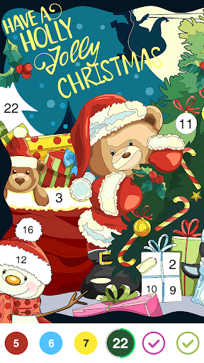 Jigsaw Coloring: Number Coloring Art Puzzle Game 1.3.0 screenshots 1