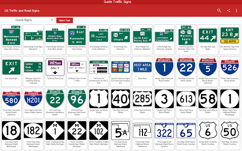 US Traffic and Road Signs