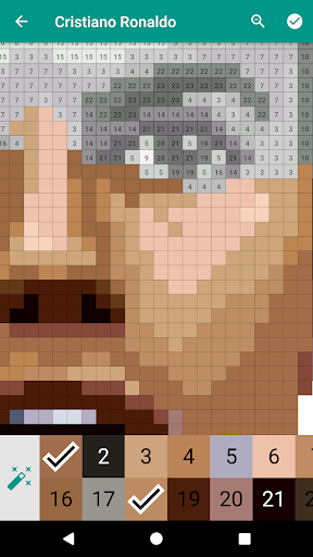 Pixies Pixel Art - Coloring book, Color by Number  screenshots 4