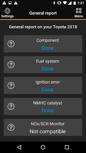 OBDclick - Free Auto Diagnostics OBD ELM327 0.9.28 Screenshots 6