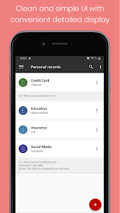 Personal Vault PRO – Password Manager 4.0 Apk 2