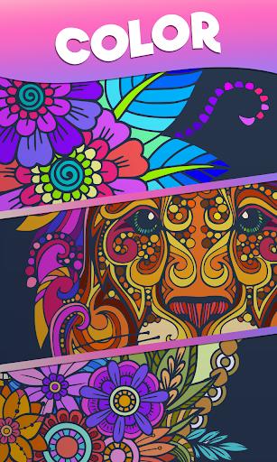 Color Stories - color journey, paint art gallery screenshots 22