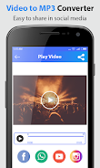 دانلود Video converter to mp3 اندروید