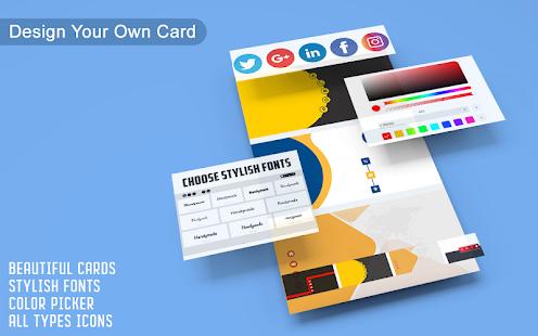 Business Card Maker u2013 Free Employee Card maker 30.0.1 Screenshots 3