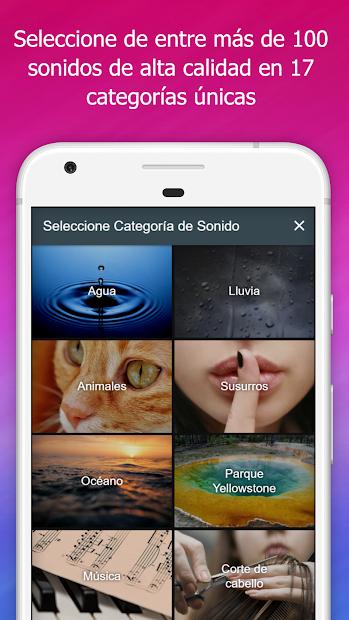 Captura 2 de Sleep Orbit: Sonido Relajante para android