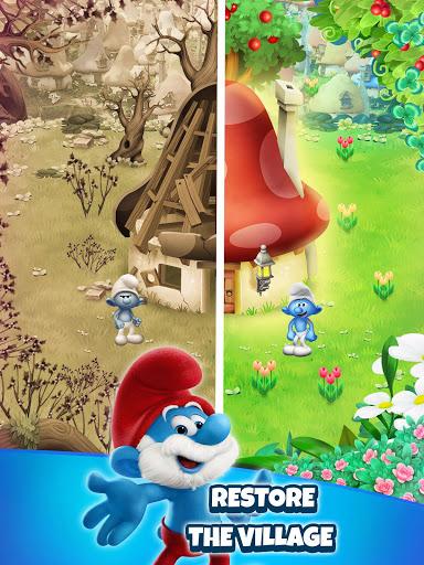 Smurfs Bubble Shooter Story modavailable screenshots 8