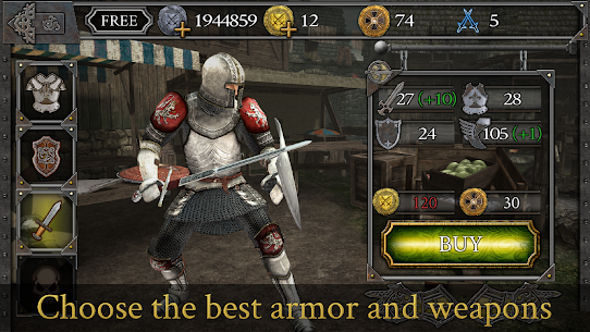 Knights Fight: Medieval Arena Mod Apk 1.0.21 (A Lot of Resources) 4