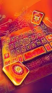 Red Mandala Keyboard Theme 1.0 Mod APK Latest Version 1