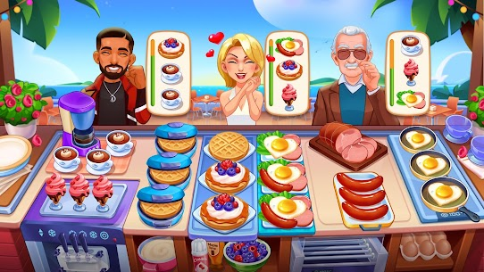 Cooking Dream: Crazy Chef Restaurant Cooking Games 4