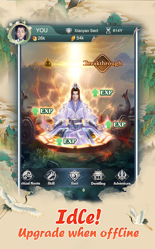 Immortal Taoists-Idle Game of Immortal Cultivation 1.4.6 screenshots 2