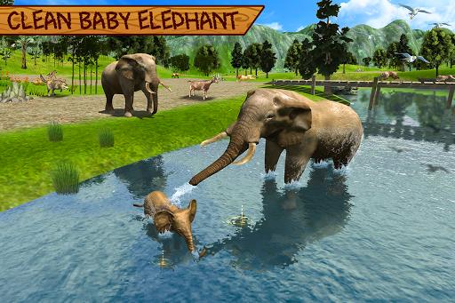 Wild Elephant Family Simulator apkpoly screenshots 10