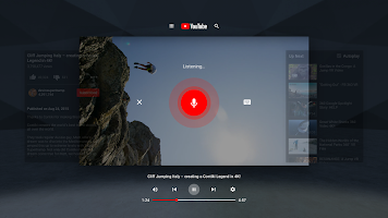 screenshot of YouTube VR