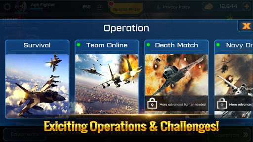 Ace Fighter: Modern Air Combat Jet Warplanes 2.58 screenshots 16