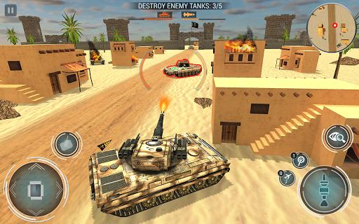 Tank Blitz Fury: Free Tank Battle Games 2019 apkpoly screenshots 3