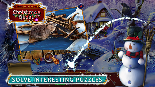 Hidden Objects: Christmas Quest screenshots 7