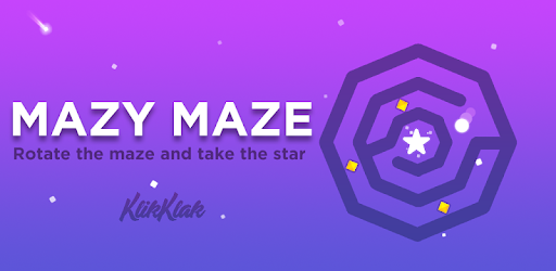 Screenshot of Mazy Maze labyrinth puzzle