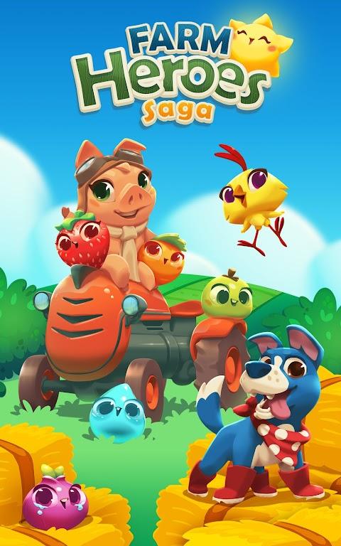 Farm Heroes Saga poster 12