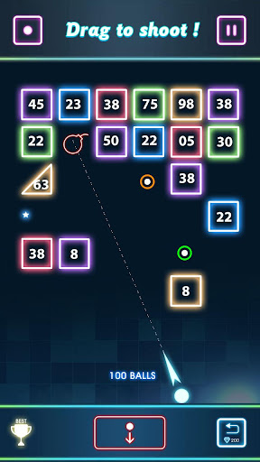 Balls vs Blocks : Bricks Breaker Throw apkmartins screenshots 1
