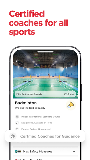 Fitso by Zomato: Badminton, Swimming, Tennis, Gym android2mod screenshots 4