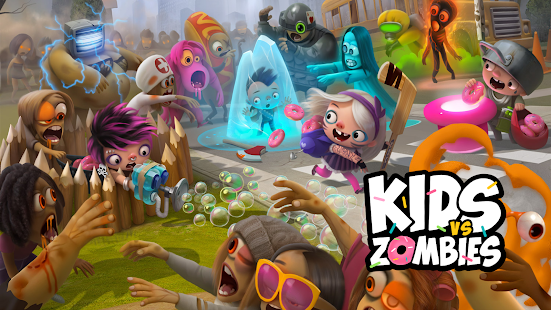 Kids vs Zombies: Combate por los Donuts Screenshot