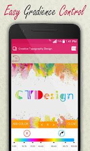Creative Typography Design 3.9 Screenshots 6