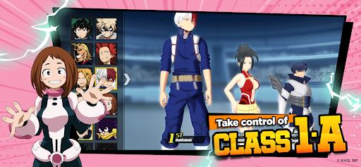 My Hero Academia: The Strongest Hero Anime RPG Apkfinish screenshots 4