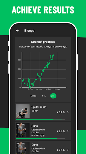 BestFit Pro: Gym Workout Plan for Fitness 2.2.2 Screenshots 5