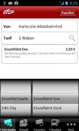 KVV.ticket  screenshots 1