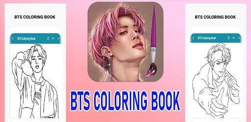 BTS Coloring Book  Screenshots 1