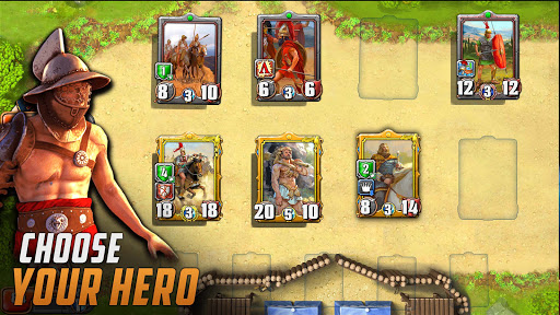 Heroes Empire: TCG - Card Adventure Game. Free CCG  screenshots 8