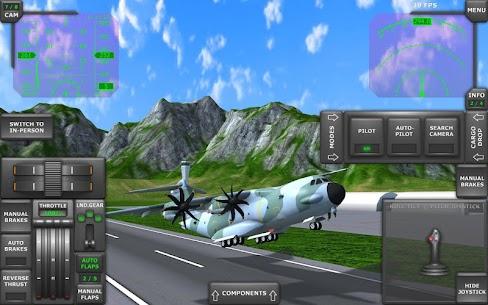 Turboprop Flight Simulator 3D MOD APK 1.26.2 (Unlimited Money) 10