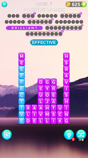Word Cubes - Find Hidden Words screenshots 2