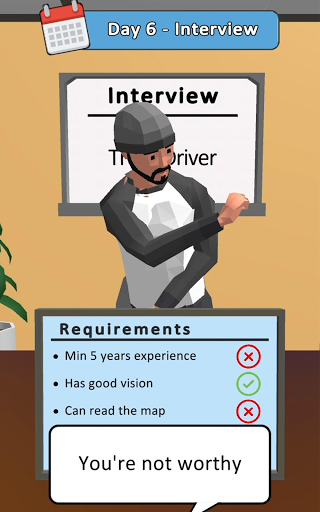 Hiring Job 3D 1.0.1 screenshots 12