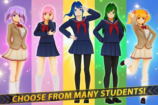 Anime Girl Run - Yandere Survival - Manga Love  screenshots 3