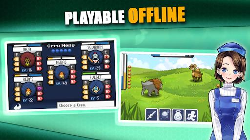 EvoCreo - Free: Pocket Monster Like Games  Screenshots 8